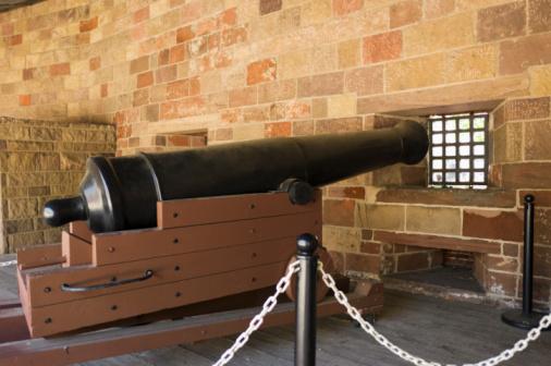 Battle「Cannon in Castle Clinton in Lower Manhattan」:スマホ壁紙(13)