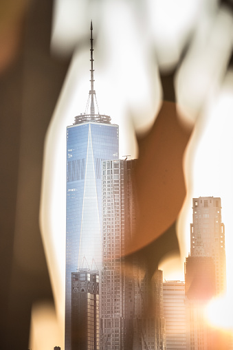 USA「A unique perspective of New York City's World Trade Center at sunset.」:スマホ壁紙(7)