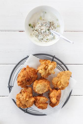 Pakora「Indian fried snack Pakora」:スマホ壁紙(2)