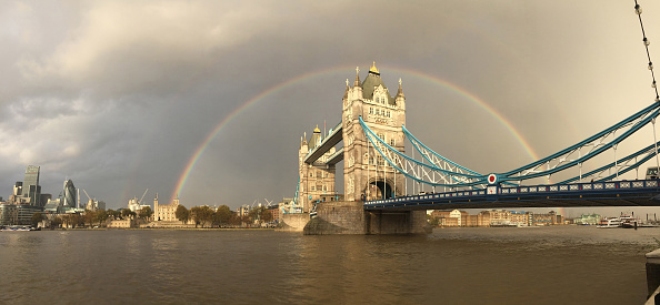 Panoramic「Ranbow Over Tower Bridge」:写真・画像(13)[壁紙.com]