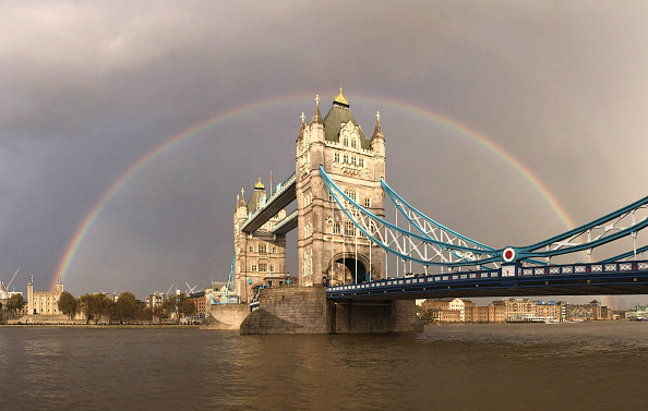 London Bridge - England「Ranbow Over Tower Bridge」:写真・画像(19)[壁紙.com]
