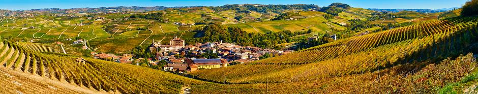 Piedmont - Italy「Barolo Wine Region in Autum, Piedmont, Italy」:スマホ壁紙(4)