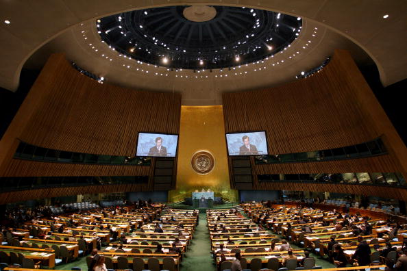 United Nations General Assembly「Heads Of State Address United Nations General Assembly」:写真・画像(18)[壁紙.com]