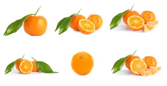 Tangerine「Mandarine (tangerines) collage」:スマホ壁紙(17)