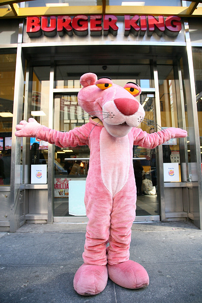 Fast Food「The Pink Panther Visits Burger King」:写真・画像(3)[壁紙.com]