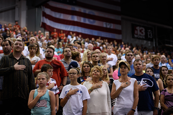 Huntington - West Virginia「President Trump Holds Rally In Huntington, West Virginia」:写真・画像(17)[壁紙.com]