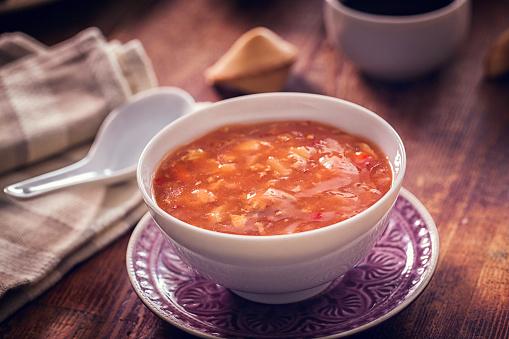 Japan「スパイシーなアジア甘い酸っぱいスープ」:スマホ壁紙(10)