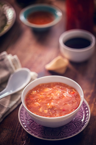 Japan「スパイシーなアジア甘い酸っぱいスープ」:スマホ壁紙(8)