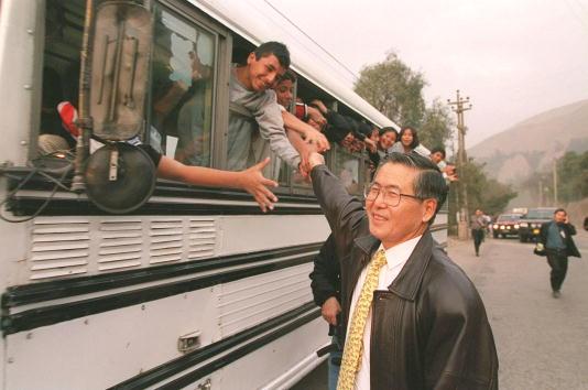 School Bus「Peruvian President Fujimori...」:写真・画像(10)[壁紙.com]