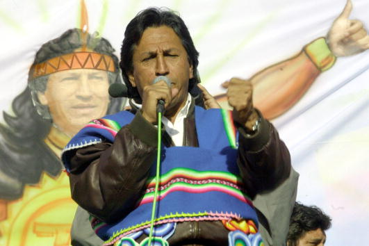 Bolivian Andes「Peruvian Presidential Candidates Campaign」:写真・画像(19)[壁紙.com]