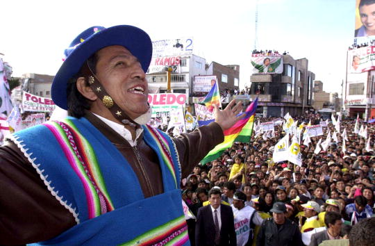 Bolivian Andes「Peruvian Presidential Candidate Alejandro Toledo」:写真・画像(18)[壁紙.com]