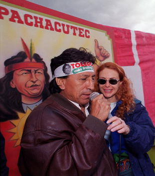 Bolivian Andes「Peruvian Presidential Candidate Alejandro Toledo」:写真・画像(17)[壁紙.com]