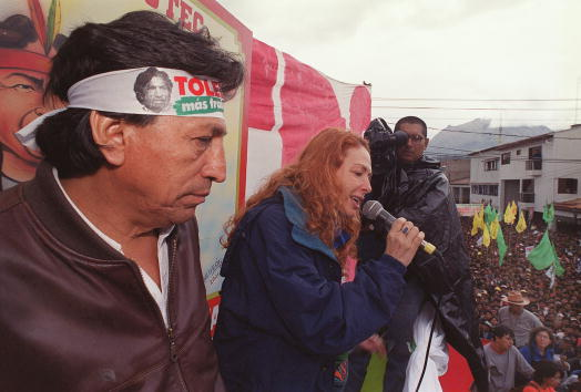 Bolivian Andes「Peruvian Presidential Candidate Alejandro Toledo」:写真・画像(15)[壁紙.com]