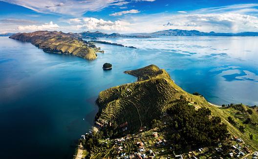 Inca「Island of the sun at lake Titicaca in Bolivia」:スマホ壁紙(4)