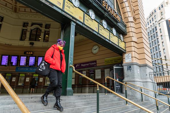 Melbourne - Australia「Melbourne Remains In Lockdown As Victoria's COVID-19 Cases Continue To Rise」:写真・画像(9)[壁紙.com]