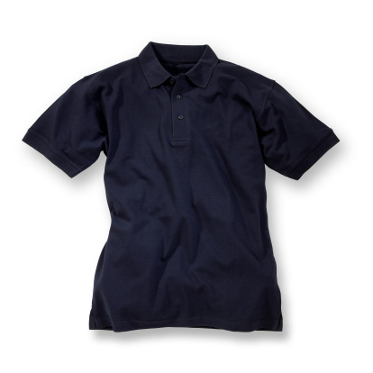 Dark Blue「Dark blue polo shirt on white background」:スマホ壁紙(9)
