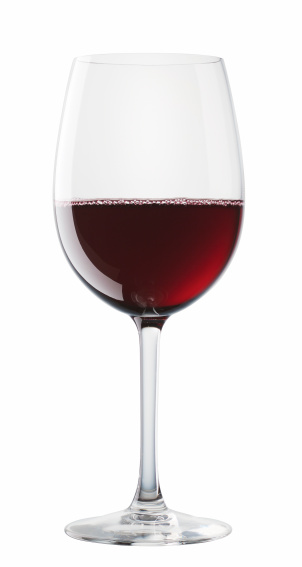 Nouvelle-Aquitaine「Bordeaux wine glass isolated on white background」:スマホ壁紙(0)