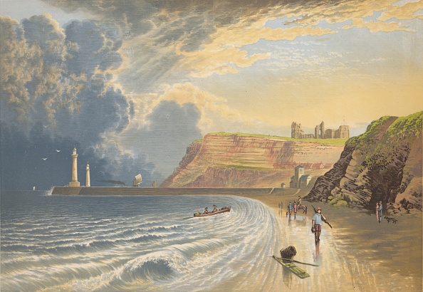 Benedictine「'Whitby Abbey', c1880, (1897)」:写真・画像(5)[壁紙.com]