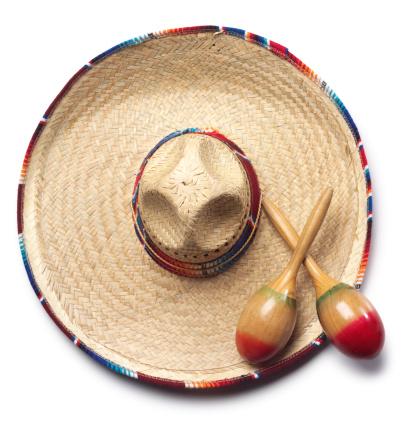 伝統的な祭り「ソンブレロ&Maracas」:スマホ壁紙(16)