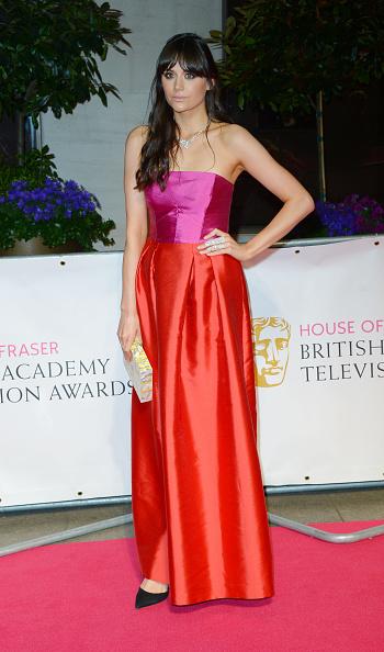Strapless Evening Gown「House Of Fraser British Academy Television Awards (BAFTA) - After Party Dinner - Red Carpet Arrivals」:写真・画像(17)[壁紙.com]