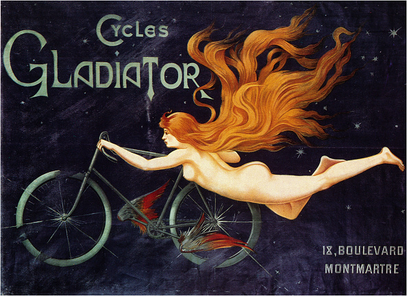 Chromolithograph「Gladiator Cycle Company」:写真・画像(9)[壁紙.com]