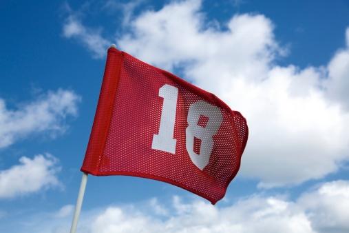 Sports Flag「Number eighteen flag」:スマホ壁紙(5)