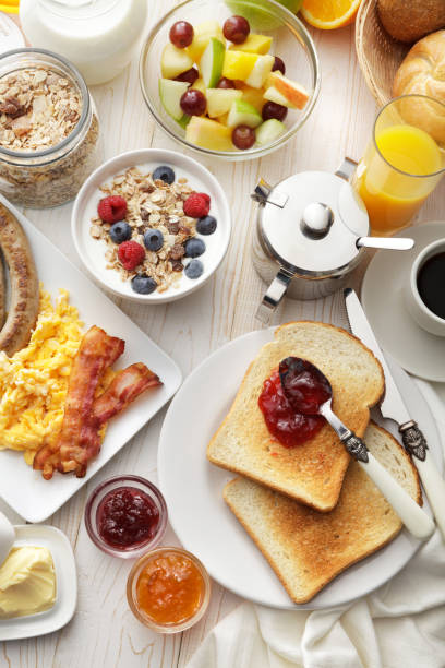 Breakfast: Breakfast Table Still Life:スマホ壁紙(壁紙.com)