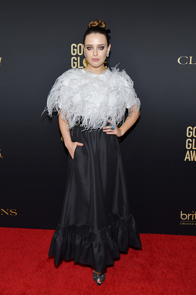 Silver Colored「HFPA And THR Golden Globe Ambassador Party - Press Conference And Arrivals」:写真・画像(7)[壁紙.com]