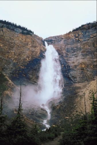 Yoho National Park「Takkakaw Falls, Yoho National Park, Canada」:スマホ壁紙(6)