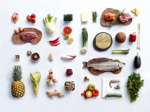 魚「Food Ingredients」:スマホ壁紙(7)