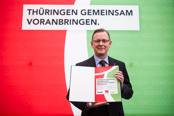 Jens Schlueter「Thuringia Confirms New Government」:写真・画像(3)[壁紙.com]