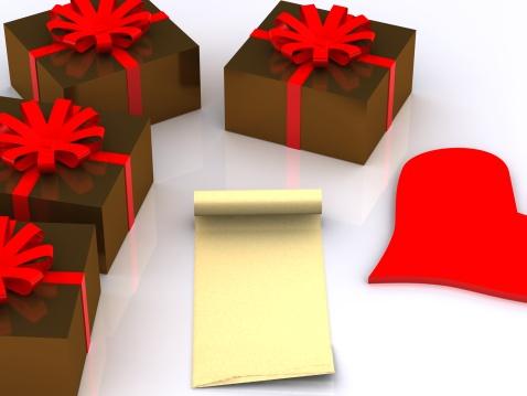 Manuscript「letter and gifts. 3D」:スマホ壁紙(8)