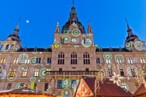 Graz「Rathaus of Graz」:スマホ壁紙(4)