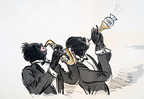 楽器「Saxophone And Trumpet Player」:写真・画像(13)[壁紙.com]