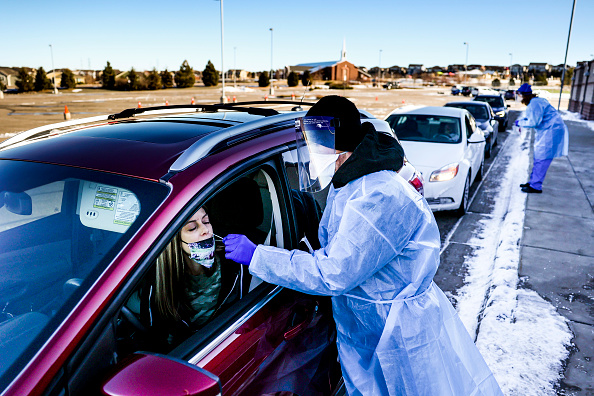 Michael Ciaglo「First US Case Of Variant UK Covid-19 Strain Found In Colorado」:写真・画像(10)[壁紙.com]