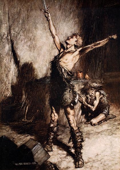 Hiding「Nothung! Nothung! Conquering Sword!' 1924」:写真・画像(7)[壁紙.com]