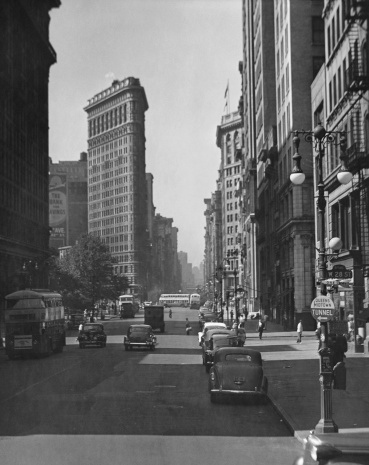 Avenue「Fifth Ave. and the Flatiron Bldg.」:スマホ壁紙(5)