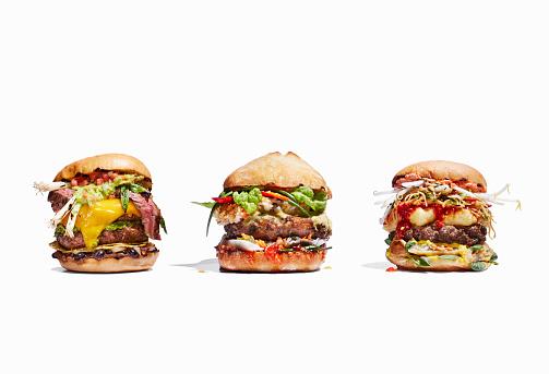 California「Mexican burger, Thai burger, and Chinese burger」:スマホ壁紙(5)