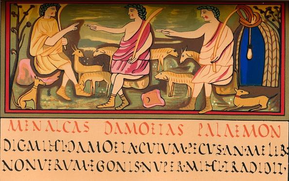 Manuscript「Menalcas」:写真・画像(9)[壁紙.com]