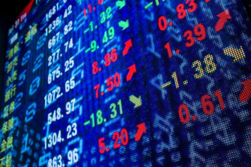 Trading「Reflection of stock readings in window」:スマホ壁紙(12)
