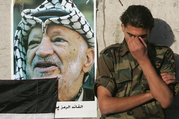 West Bank「WSB: Palestinian Leader Yasser Arafat Dies In Paris」:写真・画像(10)[壁紙.com]
