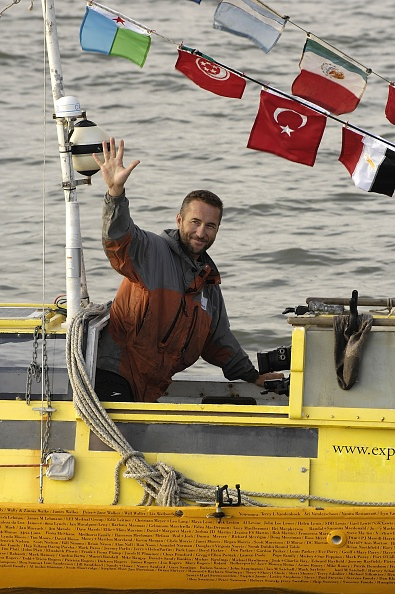 Adventure「Jason Lewis Arrives At Greenwich After 13 year Expedition」:写真・画像(14)[壁紙.com]