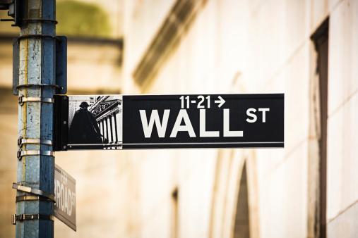 Wall Street - Lower Manhattan「Wall Street sign, New York City, USA」:スマホ壁紙(14)