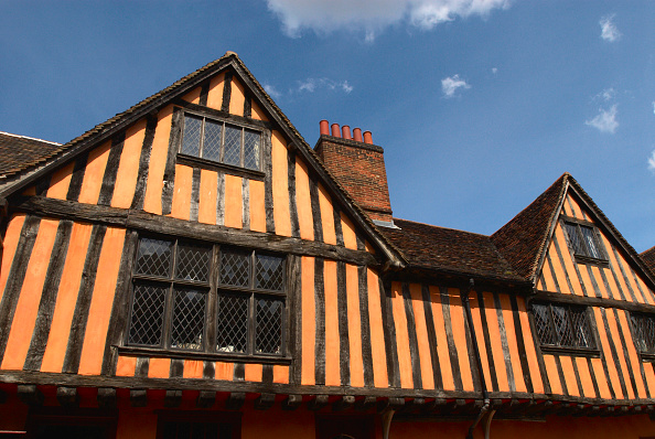 Finance and Economy「Medieval wooden building, Ipswich UK」:写真・画像(18)[壁紙.com]