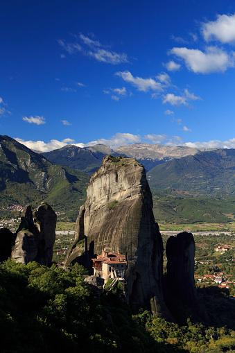 Roussanou Monastery「Greece, Thessaly, Meteora」:スマホ壁紙(11)