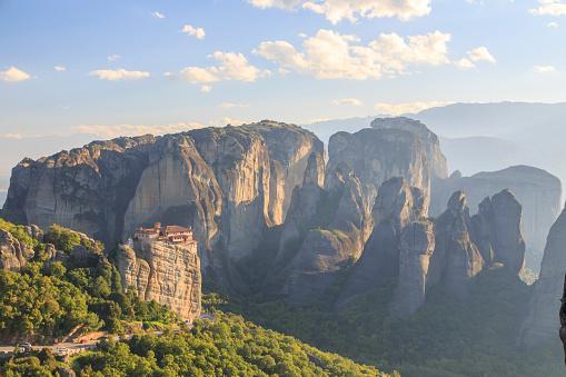 Roussanou Monastery「Greece, Thessaly, Meteora」:スマホ壁紙(17)