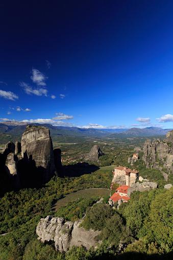 Roussanou Monastery「Greece, Thessaly, Meteora」:スマホ壁紙(14)