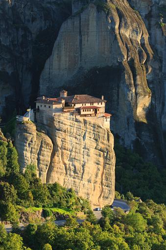 Roussanou Monastery「Greece, Thessaly, Meteora」:スマホ壁紙(13)