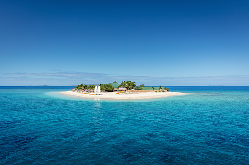 Pacific Ocean「Fiji Mamanuca Islands Beautiful Small Islet」:スマホ壁紙(6)
