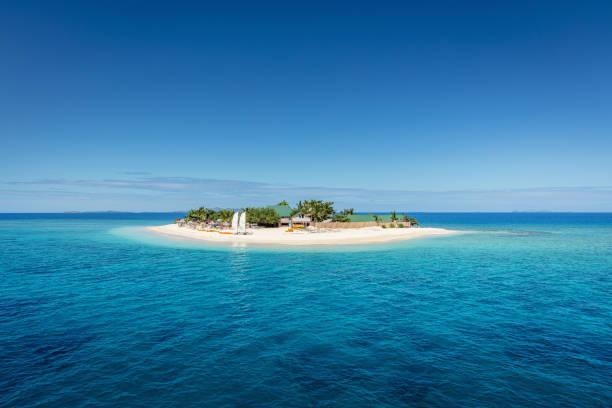 Fiji Mamanuca Islands Beautiful Small Islet:スマホ壁紙(壁紙.com)
